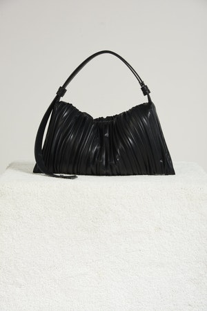 Vegan Puffin in Black Pleated by Simon Miller - 2