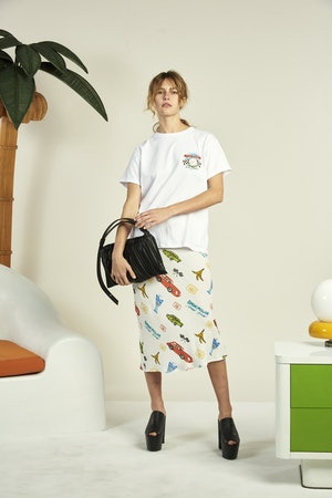 Vegan Puffin in Black Pleated by Simon Miller - 4