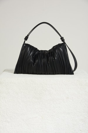 Vegan Puffin in Black Pleated by Simon Miller - 1