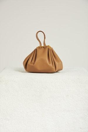 Vegan Scrunch Bag in Toffee by Simon Miller - 1