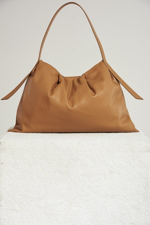Vegan Puffin Tote in Toffee by Simon Miller - 1