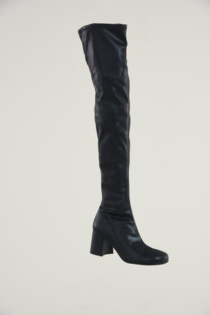 Vegan Tall Mojo Boot in Black by Simon Miller - 2