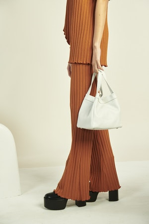 Quad Bag in White by Simon Miller - 4