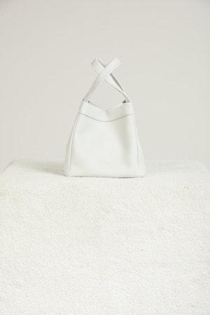 Quad Bag in White by Simon Miller - 1