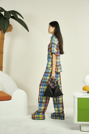 Shigedy Pant in Retro Plaid by Simon Miller - 2
