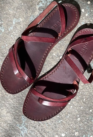 Lanapo Italian leather sandals by Two - 2