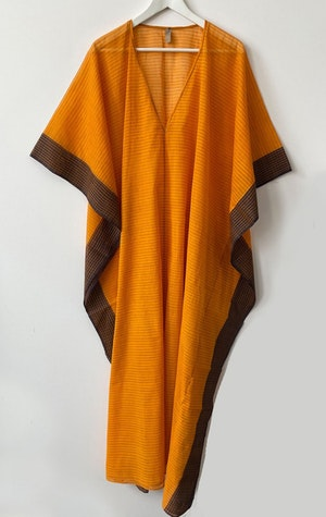 Marigold V-neck caftan by Two - 1