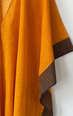 Marigold V-neck caftan by Two - 2