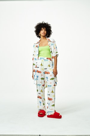 Shigedy Pant in Super Simon Miller World by Simon Miller - 1