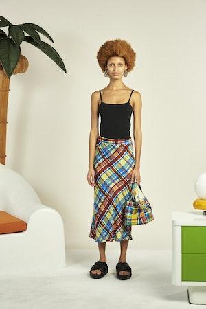 Moonie Skirt in Retro Plaid by Simon Miller - 1