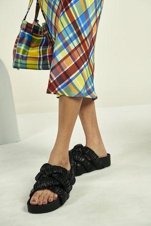 Moonie Skirt in Retro Plaid by Simon Miller - 5