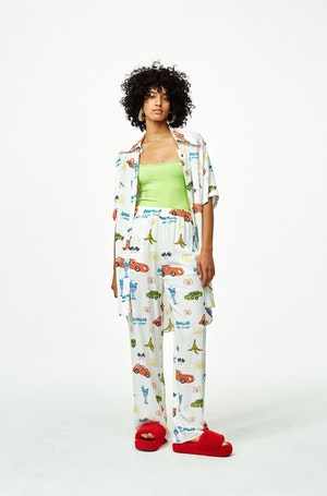 Shigedy Pant in Super Simon Miller World by Simon Miller - 2