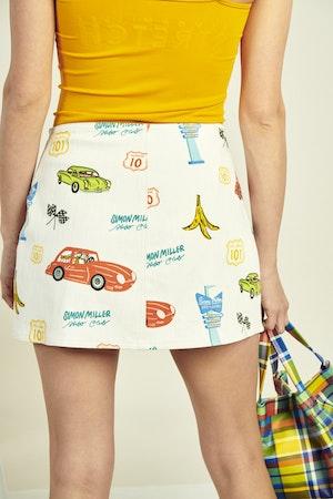 Wii Skirt in Super Simon Miller World by Simon Miller - 4