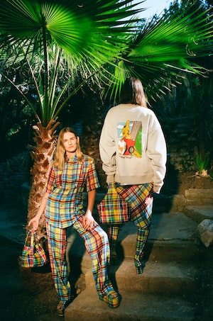 Shigedy Pant in Retro Plaid by Simon Miller - 6