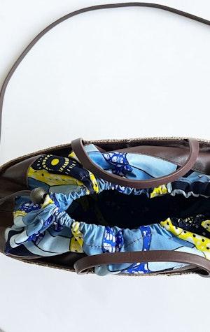 Straw handbag by Two - 2