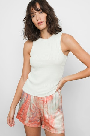 THE RACER TANK - IVORY by Rails - 2