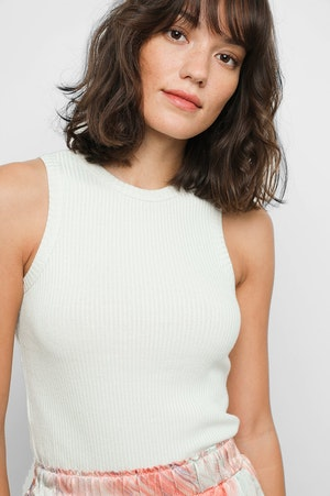 THE RACER TANK - IVORY by Rails - 5
