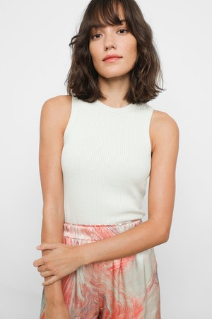THE RACER TANK - IVORY by Rails - 3