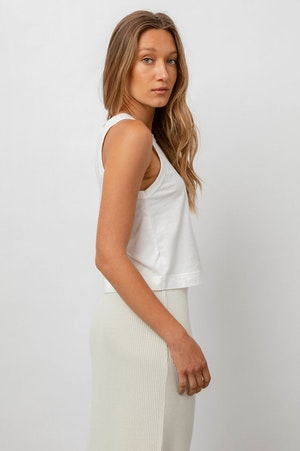 THE BOXY TANK - WHITE by Rails - 4