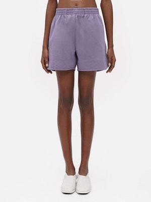 Unisex Loose Running Shorts Purple by Vaara - 1