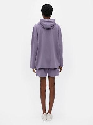 Unisex Loose Running Shorts Purple by Vaara - 3
