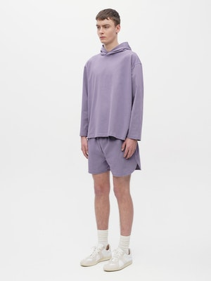 Unisex Loose Running Shorts Purple by Vaara - 4