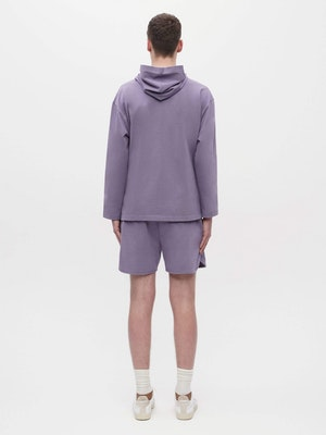 Unisex Loose Running Shorts Purple by Vaara - 5