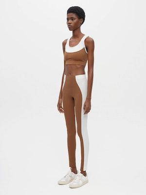 Hourglass Legging Brown by Vaara - 2