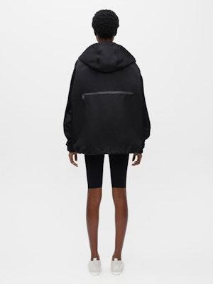 Packable Windproof Parka Black by Vaara - 5