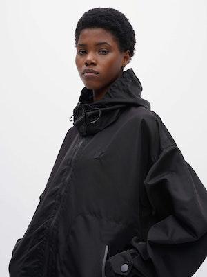 Packable Windproof Parka Black by Vaara - 4