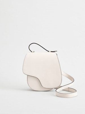 Carrara Ice White Crossbody bag