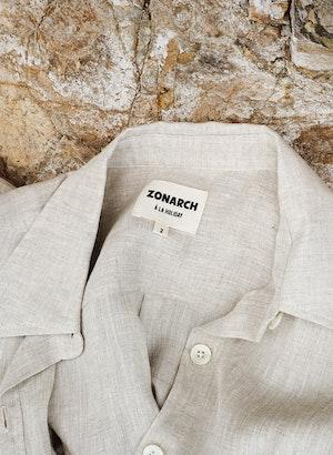 Claude Linen Shirt by Zonarch - 4